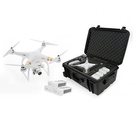 dji phantom4 dron letelica